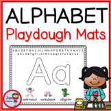 ABC PLAYDOUGH MATS with proper letter formation