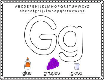 1-Pre-Writing - Hand and Finger Strength - ABC Play Dough Mats
