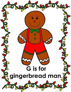 Christmas ABC Posters