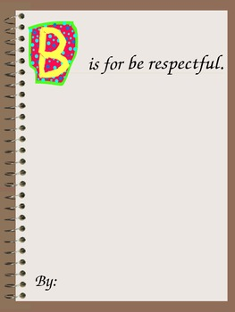ABC PPT Book on Manners and Expectations