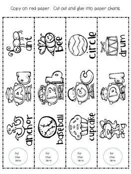 ABC Paper Chain