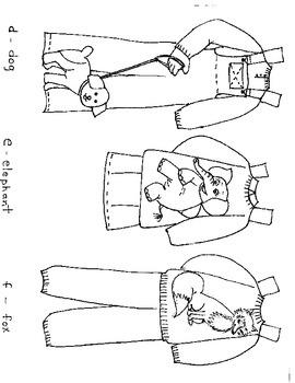 ABC Paper Doll