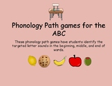 ABC Path Games, phonology games for the ABCs