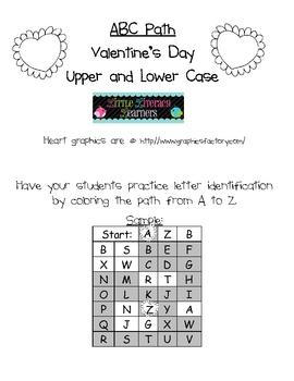 ABC Path-Valentine's Day
