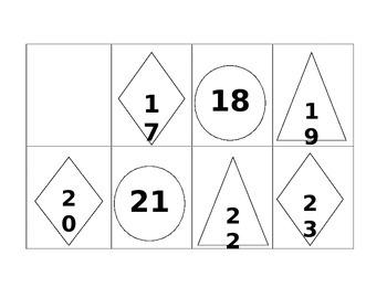 ABC Pattern Calendar