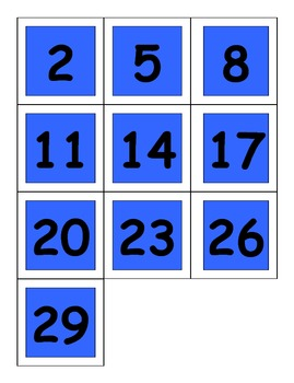 ABC Pattern Calendar Cards Colors, Shapes, & Numbers Great for TK or K