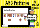 ABC Patterns ~ BOOM Cards ~ Distance Learning