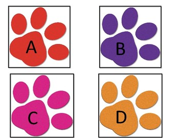 ABC Paw Prints