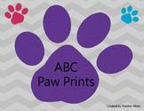 ABC Paw Prints