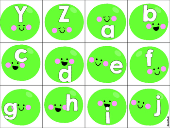 ABC Peas Activities