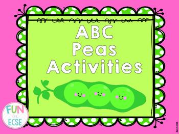 ABC Peas Activities