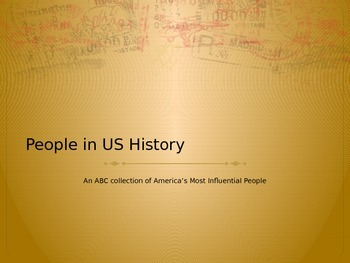 ABC People in US History