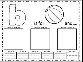 Beginning sounds - ABC Phonemic Fun ( consonants from B to G)