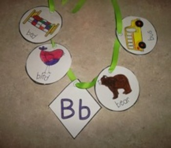 ABC Phonemic Necklaces