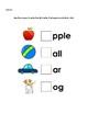 ABC Phonics Activity Letter Sounds A-Z Worksheets