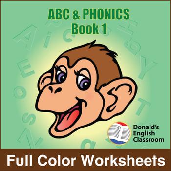 ABC & Phonics, Book 1-Full Color Textbook