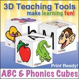 ABC & Phonics Cubes