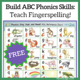 ABC Phonics Family Reference Chart