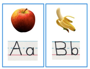 ABC Phonics Flash Cards