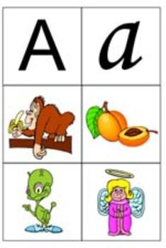 ABC Phonics Flashcards - FREE