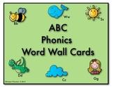ABC Phonics Word Wall Cards