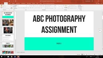 ABC Photoshoot Word Project
