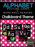 ABC Picture Cards & Word Wall Headers
