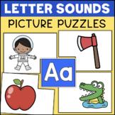 Inital Sounds Letter Puzzles