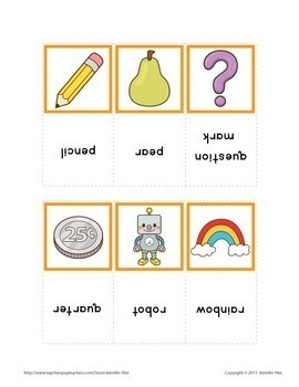 ABC Initial Sound Sorting Cards:  Alphabet Beginning Sound Activity for ECE