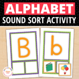 Alphabet Beginning Sound Activity | ABC Initial Sound Sorting Cards