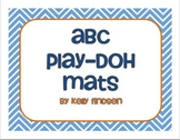ABC Play-Doh Mats: Perfect for PreK/Kdg RTI or Centers!