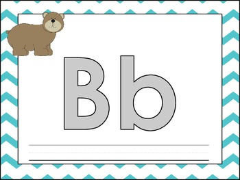 ABC Play Dough Mats for Literacy Stations