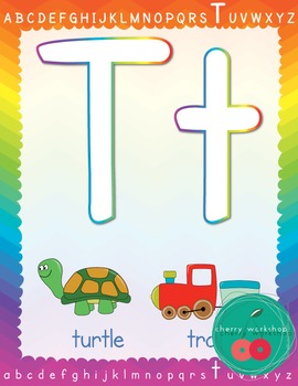 Playdough Letter Mats