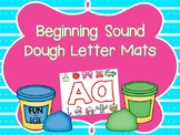 Beginning Sound Dough Letter Mats