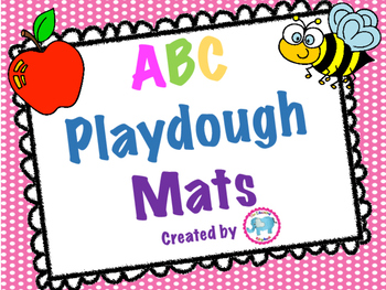 ABC Play-dough Cards