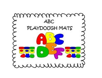 ABC Play-dough Mats