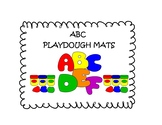 ABC Play-dough Mats