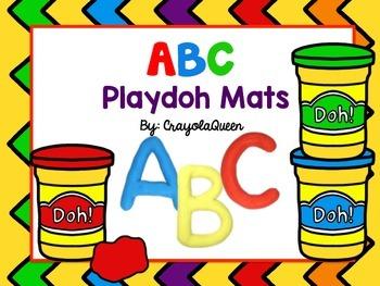 ABC Playdoh Mats