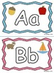 ABC Uppercase and Lowercase Playdough Mats for Word Work o