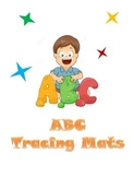ABC Playdough/Tracing Mats (half-sheet)