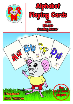 ABC Playing Cards - Flash cards, SNAP, Memory and Word building games