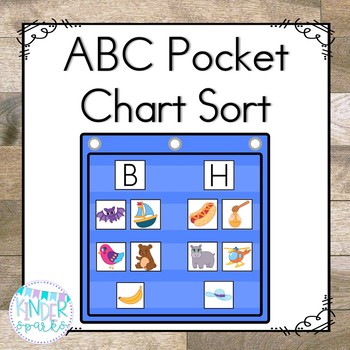 ABC Pocket Chart Sort