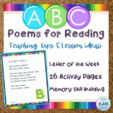 ABC Poems Original