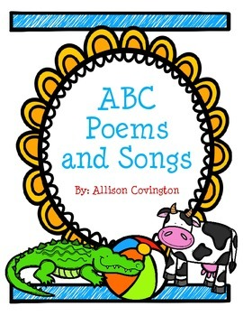 ABC Poems and Songs