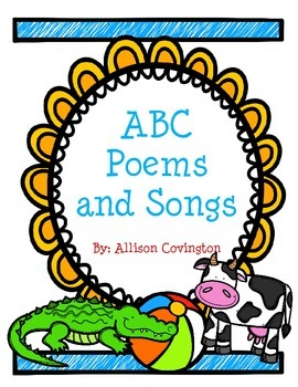 ABC Poems and Songs Freebie
