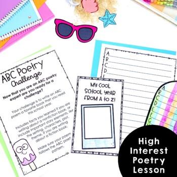 ABC Poetry June Bulletin Board