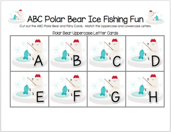 ABC Polar Bear Ice Fishing Fun
