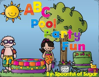 ABC Pool Party Fun! (An ABC unit)
