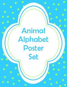 ABC Poster Set of the Alphabet