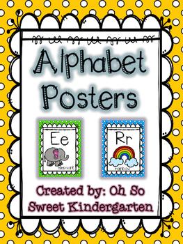 ABC Posters Polka Dots